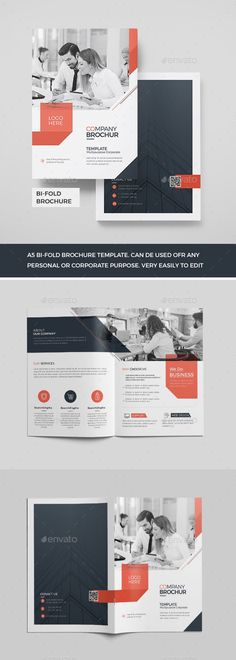 Buy Corporate Bi-Fold Brochure by Mister-Templater on GraphicRiver. Corporate Bi-Fold Brochure This layout is suitable for any project purpose. Bi Fold Brochure, Brochure Layout, Corporate Brochure, Brochure Template, Wordpress Website Design, Paper Size, Layout Design, Creative Design, Purpose