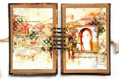Journal 025 - Too emotional by finnabair, via Flickr