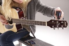 Roadie Robotic Tuner Automatically Tunes A Guitar, Monitors String Health 12 String Guitar, Guitar Tuners, Steel Guitar, Music Instruments, Gadgets, Health, Outdoor, Color, Products