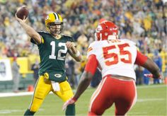 Packers vs Chiefs -   Packers 38, Chiefs 28: Aaron Rodgers' high-five has K.C., ex-Ute Alex Smith feeling low | The Salt Lake Tribune