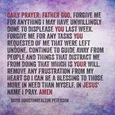 Prettiness ever new. We can find the year off to a worthy start by stimulating our images of God. Prayers for each day of the week. Fervent Prayer, God Prayer, Power Of Prayer, Daily Prayer, Prayer Room, Spiritual Prayers, Spiritual Quotes, Powerful Prayers, Spiritual Growth