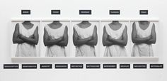 """Lorna Simpson, 'Five Day Forecast' 1991 - """"deploys a staccato devise, a kind of mechanistic action of repetition and differentiation"""" - """"deliberately austere"""" - black white photos and text. Five Day Forecast, Afro, Simpsons Art, A Level Art, Level 3, Gelatin Silver Print, Photography Courses, Black Artists, Famous Photographers"""