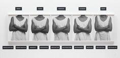 Lorna Simpson 'Five Day Forecast', 1991 © Lorna Simpson, courtesy Salon 94, New York