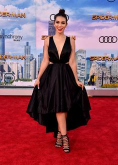 "Ashley Iaconetti Photos Photos - Ashley Iaconetti attends the premiere of Columbia Pictures' ""Spider-Man: Homecoming"" at TCL Chinese Theatre on June 28, 2017 in Hollywood, California. - Premiere of Columbia Pictures' 'Spider-Man: Homecoming' - Arrivals"