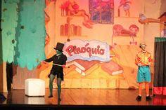 Espetaculo Pinóquio no Teatro Nelson Rodrigues