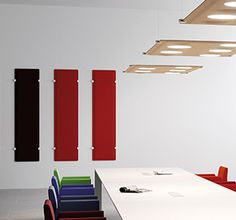 Les panneaux acoustiques offrent à vos locaux une solution face aux bruits et aux résonances pour un meilleur confort. À monter soi-même ou par nos experts. Solution, Acoustic Panels, Sound Proofing