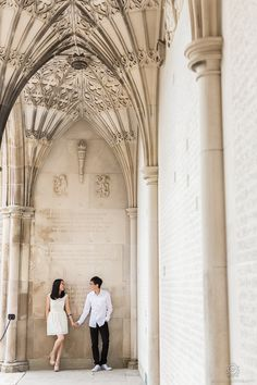 Pre-Wedding Session – University of Toronto, Toronto Canada  by: Rowell Photography
