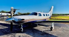N889BL, 2008 Piper Meridian, S/N:4697379. Price: Please inquire. Trades Welcome! Beautiful, no damage history Meridian with only 994 hours! Aircraft had extensive hot section in 2018. Also has recent FCU and prop overhauls. Superb condition paint in elegant colors – You must see this one! Aircraft Sales, Piper Aircraft, Used Aircraft, Airplane For Sale, Usa Cities, Exterior Trim, Sound Proofing, Fort Lauderdale, Engineering