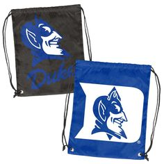 New! Duke Blue Devils Doubleheader Reversible Backsack #DukeBlueDevils