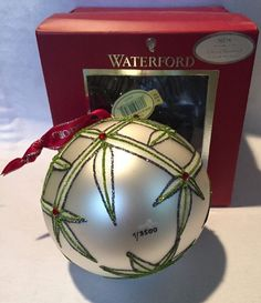 Waterford Crystal Lismore Annual Dated Ball 2011 NEW Limited Numbered 7/3500 #WaterfordHolidayHeirlooms