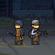 Pip Boy, Pixel Characters, Video Game Development, Concept Art World, Modern Warfare, Zombie Apocalypse, Game Design, Pixel Art, Game Art