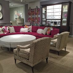 Delightful Arianne Bellizaire Inspired To Style Design Trends HPMKT High Point Market  Color Pink Blush Elite Furniture