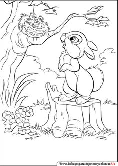 Dibujos de Disney Bunnies para Imprimir y Colorear