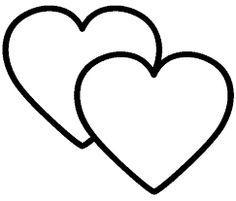 Resultado de imagem para imagens de corações para recortar