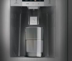 Water Dispenser, French Door Refrigerator, French Doors, Kitchen Appliances, Diy Kitchen Appliances, Home Appliances, Kitchen Gadgets