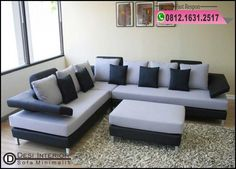 Lovely ide ruang tamu modern murah Ideas, brainy sofa modern home inspiration or 22 improvement contractors near me Corner Sofa And Armchair, Table Sofa, Sofa Chair, Sofa Set, Bobs Furniture Living Room, Living Room Chairs, Dining Room, Corner Sofa Modern, Modern Sofa