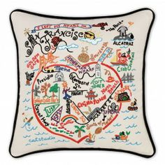 I left my heart and fabulous pillow in San Fransisco!