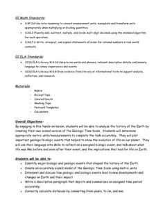 12 4 The Geologic Time Scale Worksheet Answers Worksheets For Kids