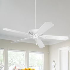 Pin On White Ceiling Fans