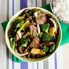 One of my loved Chinese Stir fries & the best way to enjoy beef with crunchy broccoli.