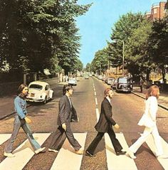 iconic record covers | Iconic album covers gallery - 6. The Beatles - Abbey Road (1969)