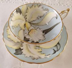 Paragon Orchid Tea Cup & Saucer