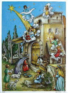 nativity love advent calendar advent calander holy night christmas holidays merry christmas