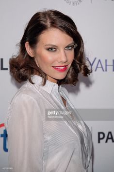 Lauren Cohan attends the Annual Paleyfest New York Presents: 'The Walking Dead' at Paley Center For Media on October 2014 in New York, New York. Lauren Cohen, Maggie Greene, Paley Center, Team 2, Female Form, The Walking Dead, American Actress, Crushes, Sci Fi