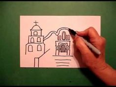 ▶ Let's Draw a California Mission! - YouTube