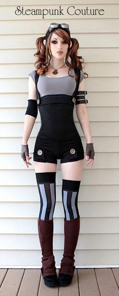 Steampunk girl. Where do I find a girl like that?