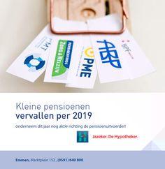 Kleine pensioenen vervallen per 2019 Personal Care, Self Care, Personal Hygiene