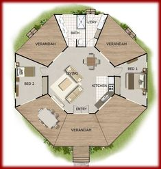 Tiny house floor plans - House Design Book Small and Tiny Australian and International Home Plans house plans, house plans australia, small house plans,tiny plans – Tiny house floor plans Round House Plans, Small House Plans, House Floor Plans, Cool House Plans, Sims 3 Houses Plans, Large Floor Plans, Tiny House Layout, Small House Design, House Layouts