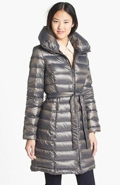 London Fog Belted Down Coat  (Online Only) available at #Nordstrom