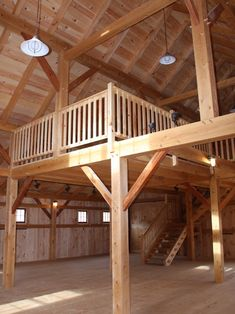 Barn style loft - amazing