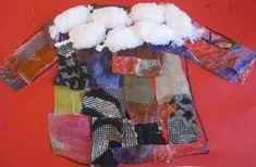 Winter kleuters   Thema, Lesidee Juf Anke Bubble Wrap Art, Winter Words, Snow Theme, Christmas Tree Pattern, Weaving Projects, Snowman Crafts, Winter Trees, Winter Coat, Paper Dolls