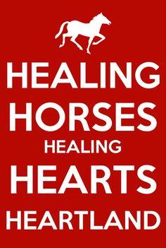 Healing horses healing hearts heartland