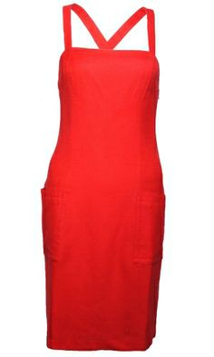YSL red frock!