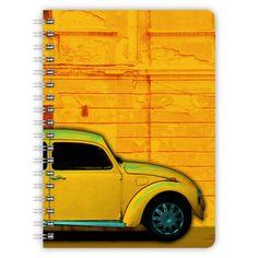Notizbuch mit kräftig farbigem Oldtimer-Motiv!    *Beschreibung*    Der Block enthält 60 Blätter.    Durch die abgerundeten Ecken ist der Block seh...