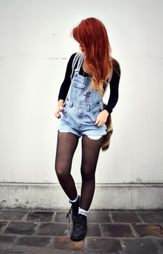 LEHAPPY / Docs, and Dungarees #grunge #90s