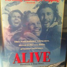 Alive the Movie- always remember watching this with my mom