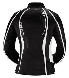 KIARA Women's Leather Motorcycle Jacket - iXS Motorcycle Fashion