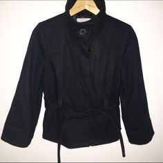 Old Navy Black Funnel Neck Jacket