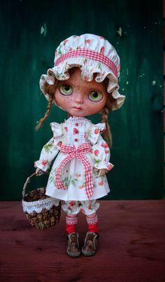 Guarda questo articolo nel mio negozio Etsy https://www.etsy.com/it/listing/540388557/blythe-dress-in-vintage-style