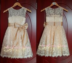 Flower girl dress <3