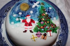 Christmas Cake by mo Kelly