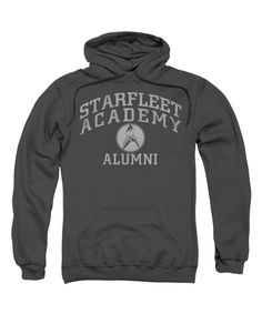 This Charcoal 'Starfleet Academy Alumni' Hoodie - Men by Trevco is perfect! #zulilyfinds