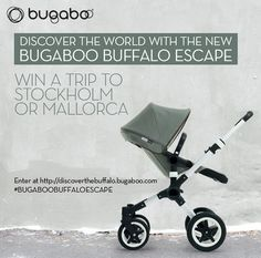 Win a Family Trip with the Bugaboo Buffalo Escape - Ends 2/24/15