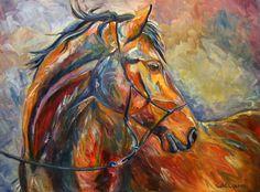 Original Equine Art by Alberta Artist Diane Williams