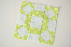Farmer's Wife Quilt Block - #80 Single Wedding Star