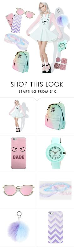 """""""#pastel"""" by millons ❤ liked on Polyvore featuring Macaron Hombeth, Crayo and Casetify"""